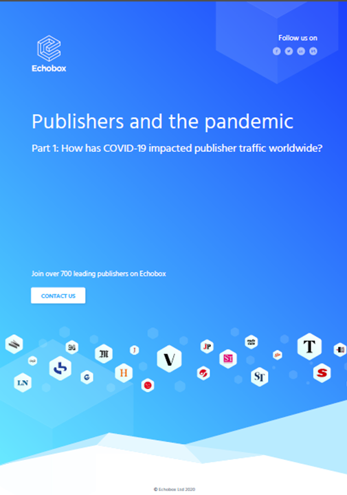 Publishers and the pandemic