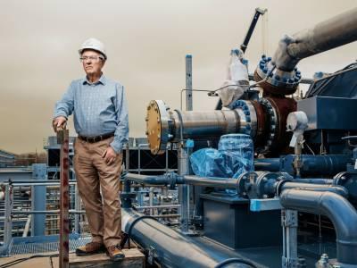 محطة توليد كهربائية تعمل بغاز ثاني أوكسيد الكربون
