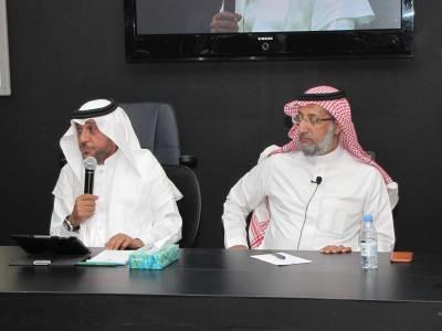 د. فهد العرابي الحارثي في لقاء الإعلاميين: