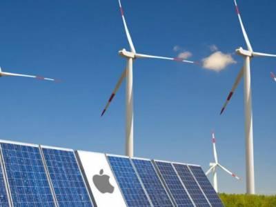 حكاية أبل والطاقة النظيفة
